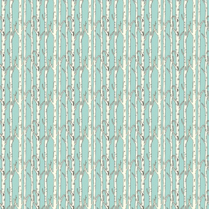 birches soft teal