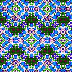 Blue Linked Mosaic