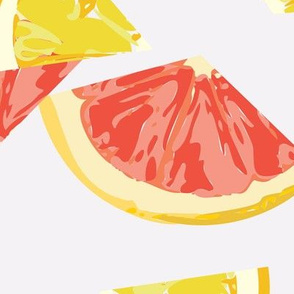 Lemon Grapefruit Pop Art