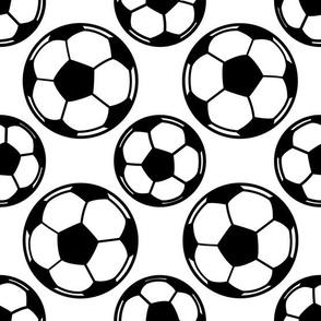 Soccer Ball Pattern (Large Print Size)