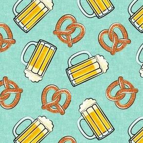 Beer and Pretzels - mint - LAD19