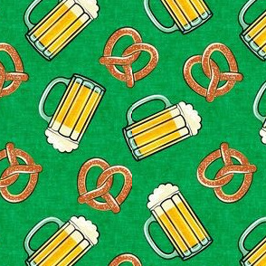 Beer and Pretzels - green - LAD19