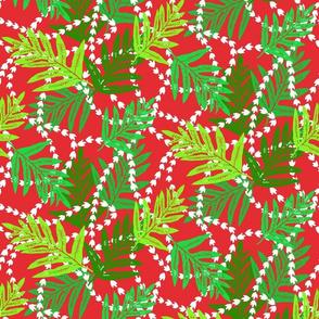 Christmas Hawaiian Lei-small