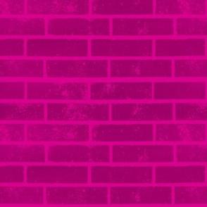 Hot Pink Bricks