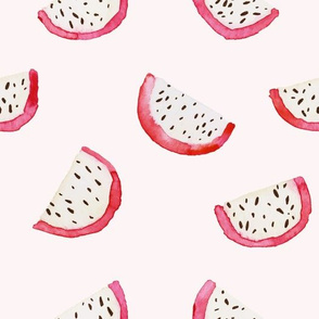 Dragon fruit pattern