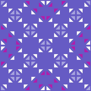 Geometric Purple_122