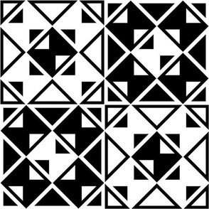 Geometric black_white_118