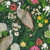Nouveau Peacock Garden