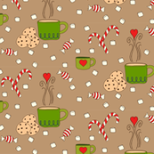 Candy and Cocoa (kraft) - small
