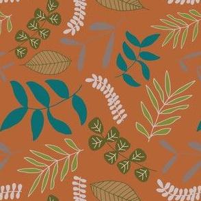 Foliage - Burnt Orange