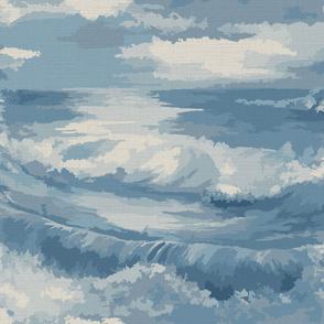 Rough Seas In My Dreams ©Julee Wood