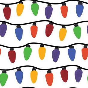 Multicolor String Light Stripes