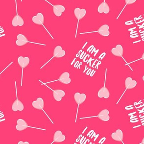 I am a sucker for you - pink on pink - LAD19