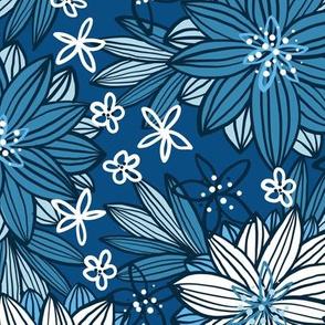Bohemian Tropics (Classic Blue)