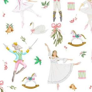 Nutcracker Ballet White
