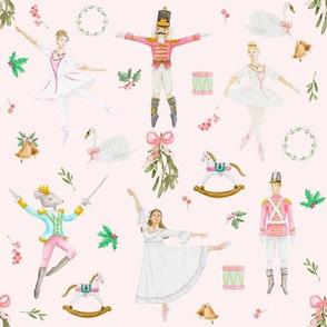 Nutcracker Ballet Pink