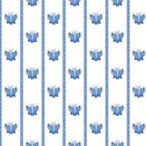 Heart Folk Art08 blue 25