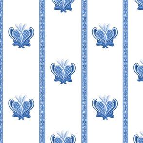 Heart Folk Art08 blue 50 (1)