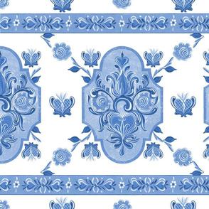 Heart Folk Art10 blue50 (1)