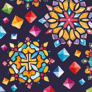 The Kaleidoscope and Gemstones