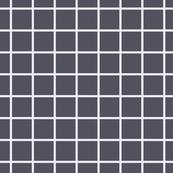 Grid // Rain Mist Blue on Charcoal Black