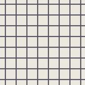 Grid // Charcoal Black on Vanilla Ivory