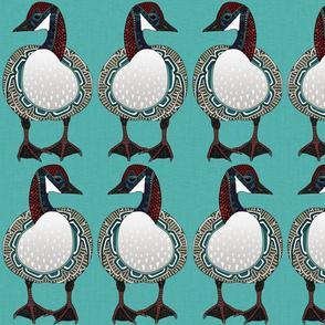 goose turquoise