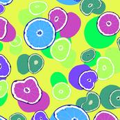 Colourful pop-art citrus