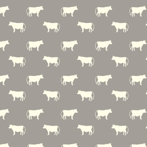 cows taupe