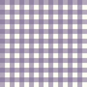 gingham checks purple