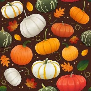 Tiny Pumpkin Autumn Harvest
