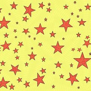 starz yellow and orange