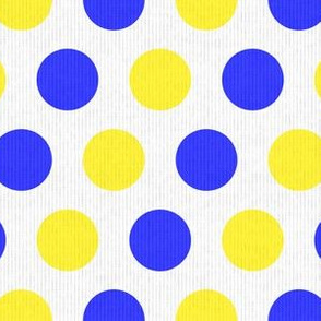 Blue & Yellow Dots (Small Print)