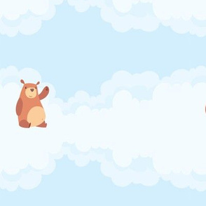 Cute Bears & Clouds