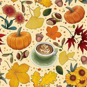 Cozy Autumn Coffee Shop