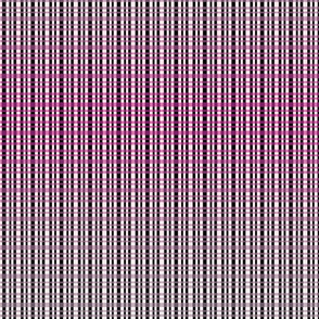 Pink Plaid Gradient (Large Print)
