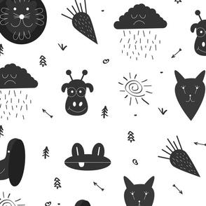 Scandinavian animals 01