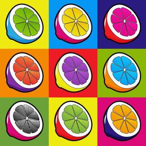 Lemons Pop Art