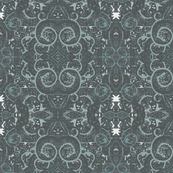 Abstract Vintage Swirl