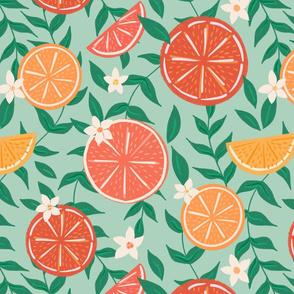 Citrus on Mint