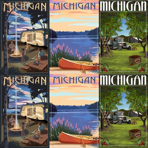 Vintage Michigan Posters