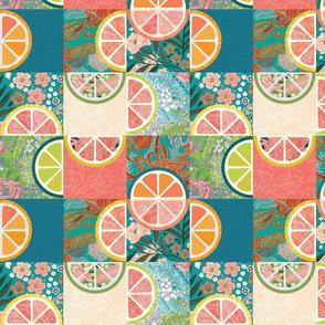 Citrus Quilt Small Scale
