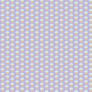 Blue Water Cones