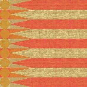 stripe_coral_mustard_flag