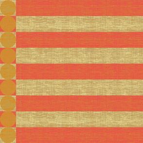 stripe_coral_mustard
