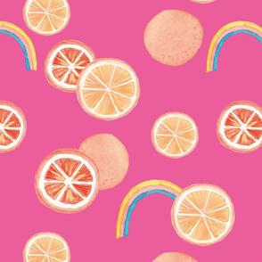 rainbow tangerine