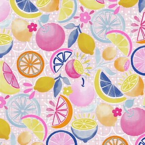 Summer Citrus Pop-art 21""