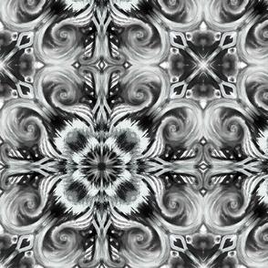 Elegant in black and white