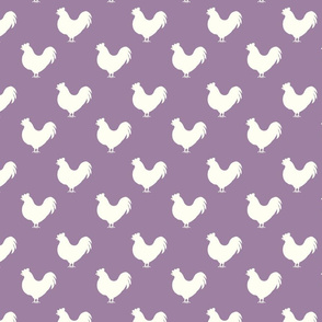Rooster lt. purple