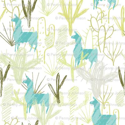 Cactus-llamas-teal_preview